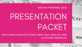 Design Thinking 2020 Presentation Packet