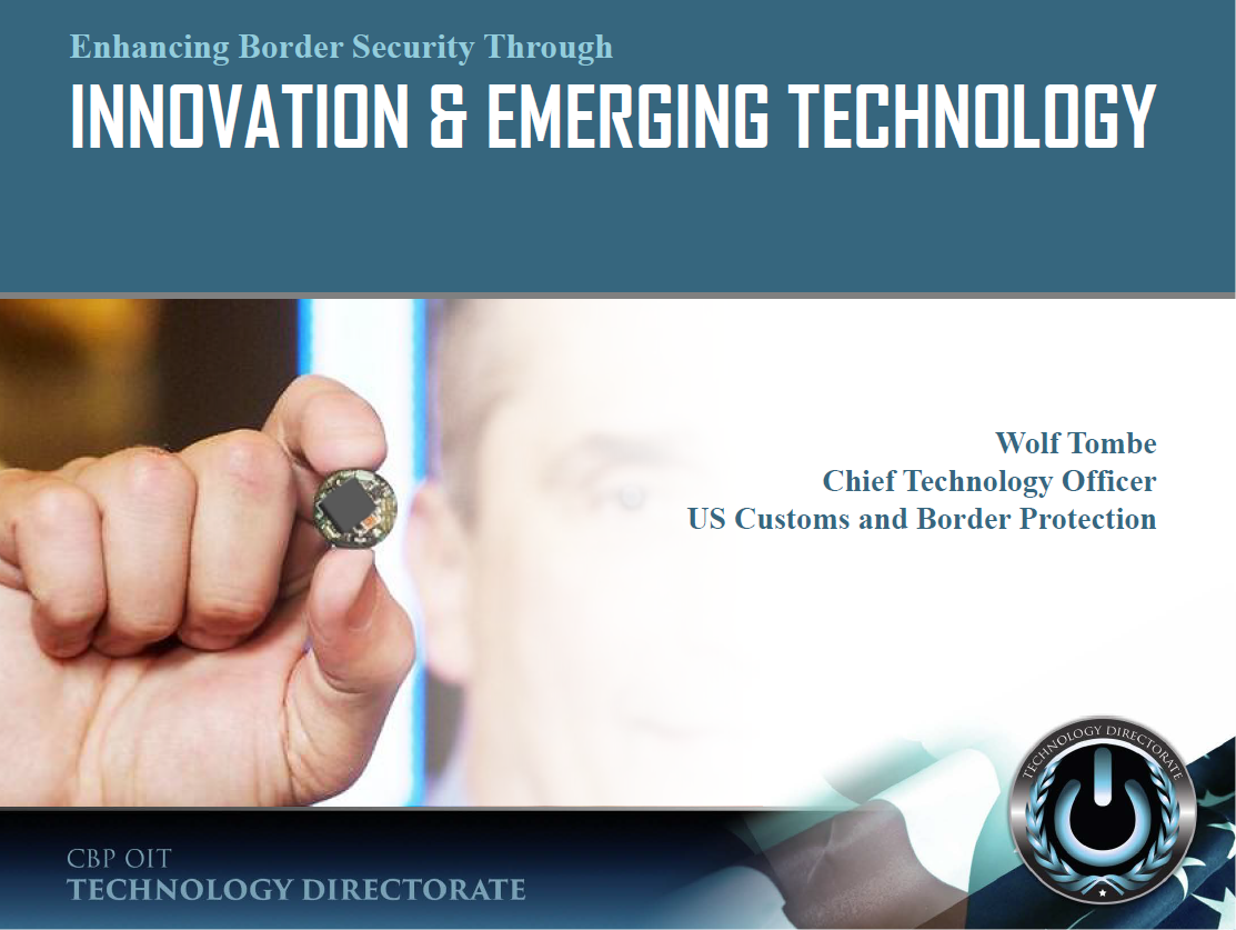 Enhancing Border Security Through Innovation & Emerging Technology