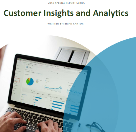 Special 2019 Report: Customer Insights and Analytics
