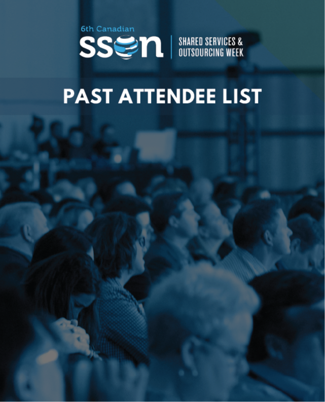 SSOW Canada 2019: Past Attendee List for Sponsorship