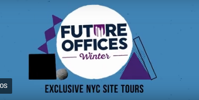 Future Offices Winter Site Tour Trailer