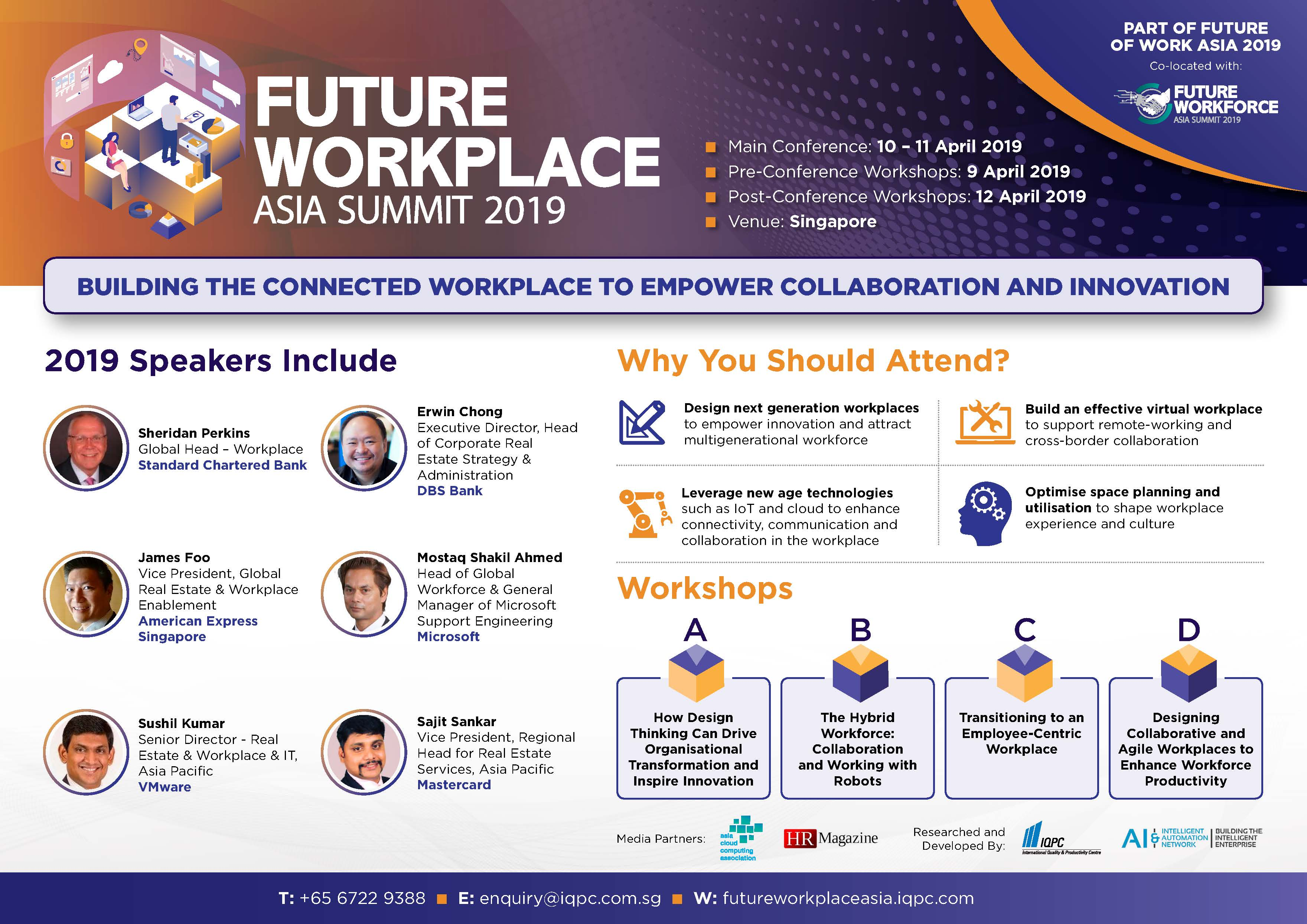 Download Your Event Guide - Future Workplace Asia Summit 2019 Brochure