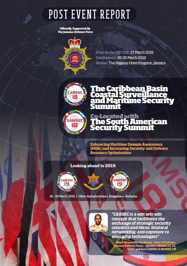2018 CABSEC & SAMSEC Post Event Report
