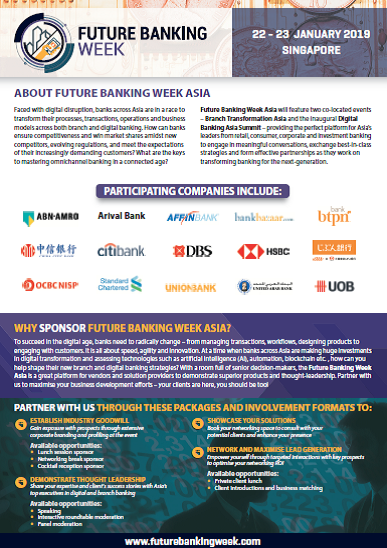 Future Banking Week Sponsorship Information