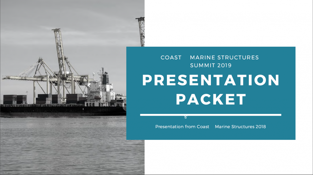 Coast and Marine Structures 2018 - Past Presentation Packet