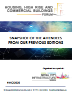 Past Housing, High-Rise and Commercial Buildings Forum Attendee Snapshot