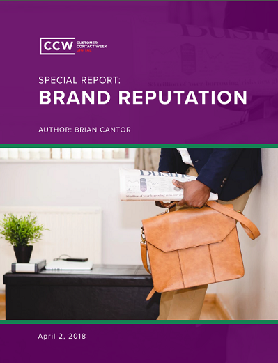 CCW Digital Special Report - Brand Reputation