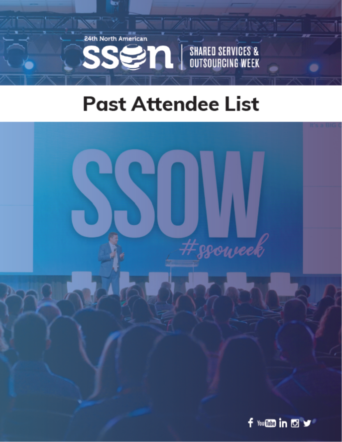 SSOW 2020: Past Attendee List