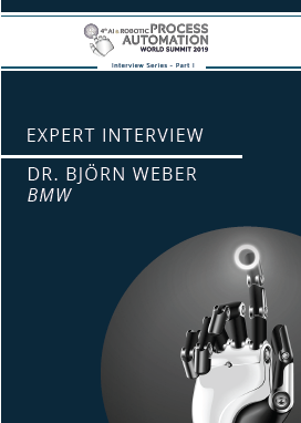 AI & RPA - Interview Series Part I - BMW