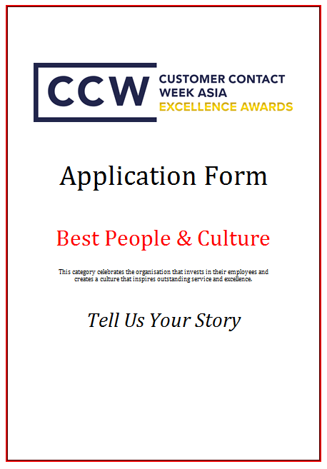 CCW Awards Application Form 2019 - Best People & Culture