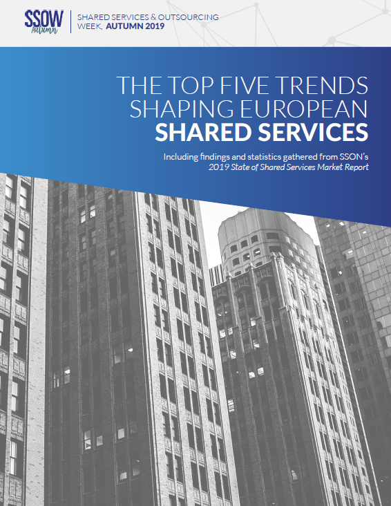 The Top Five Trends Shaping European Shared Services 2019