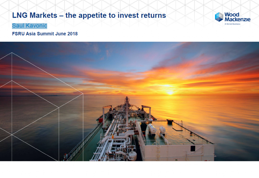 LNG Markets – the appetite to invest returns
