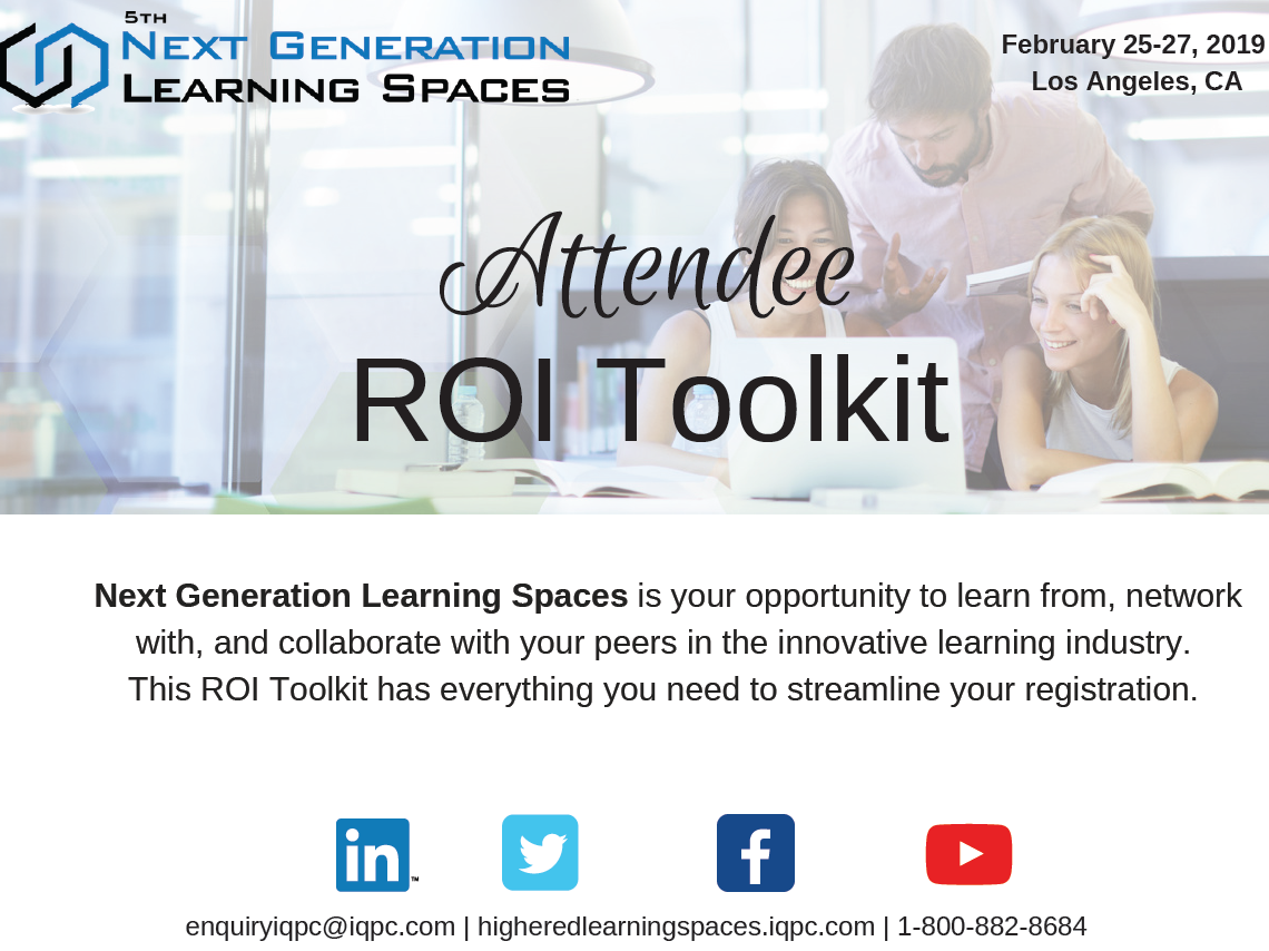 Next Generation Learning Spaces ROI Toolkit