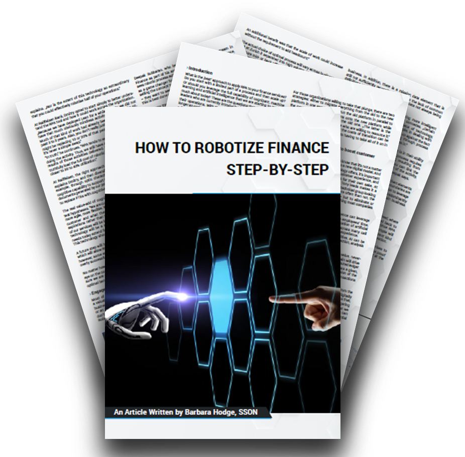 How to Robotize Finance Step-by-Step