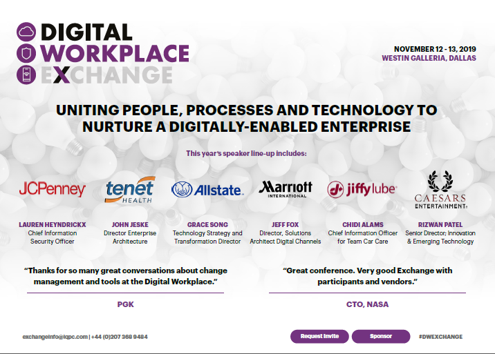 2019 Agenda: Digital Workplace Exchange US