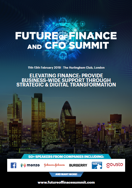 View the full 2019 Future of Finance and CFO Summit event guide