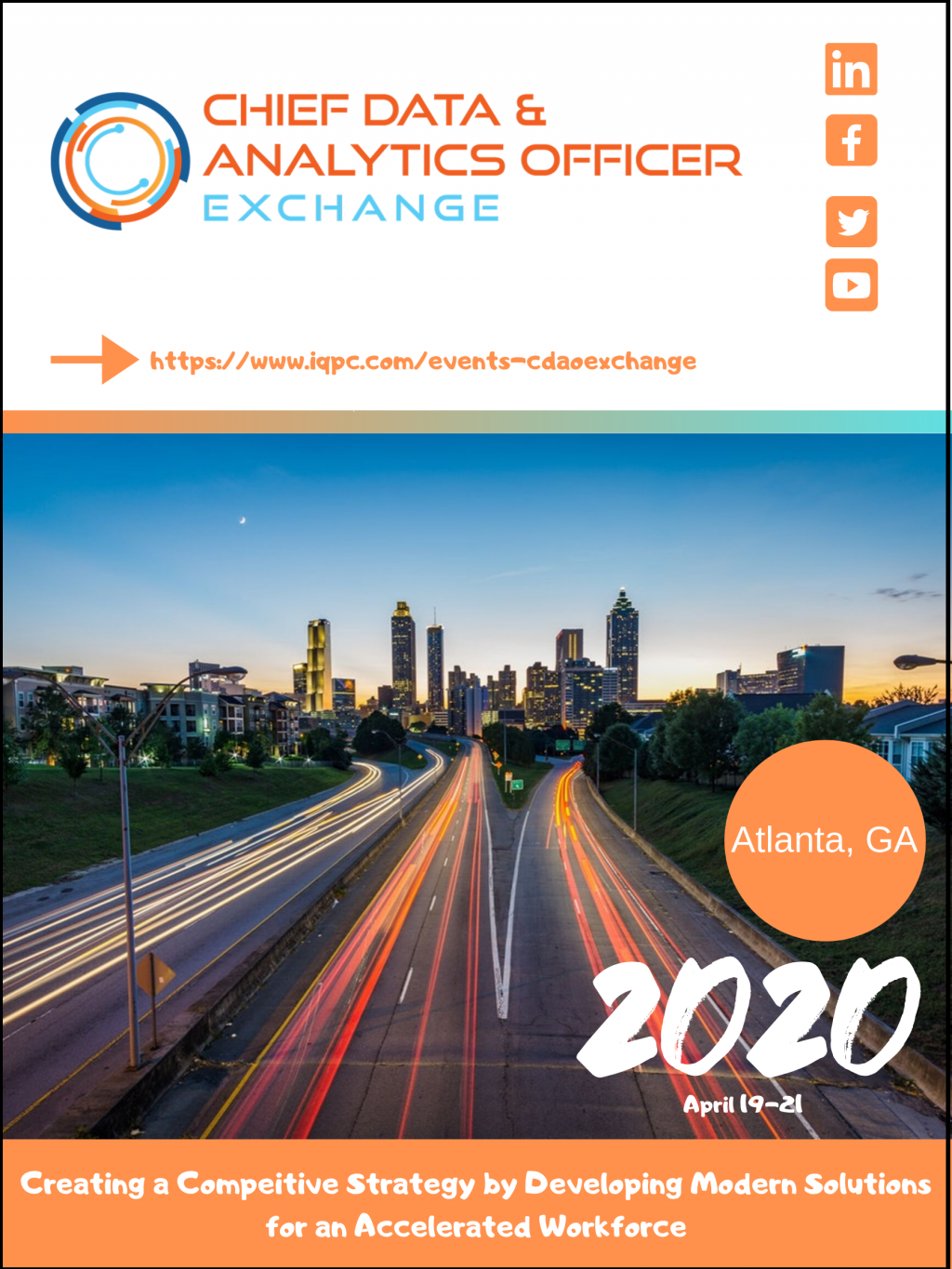 Get the latest! Download the April 2020 CDAO Agenda.