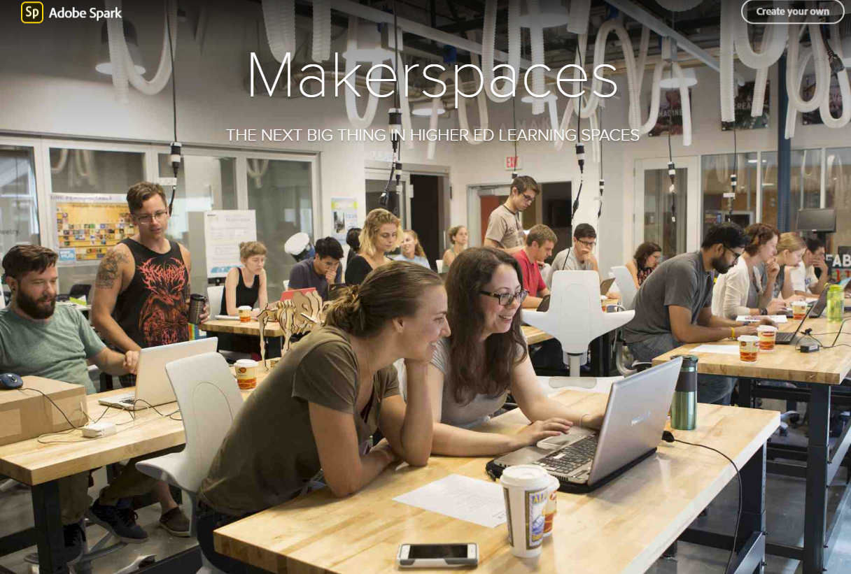 Makerspaces: The Next Big Thing In Higher Education Learning Spaces