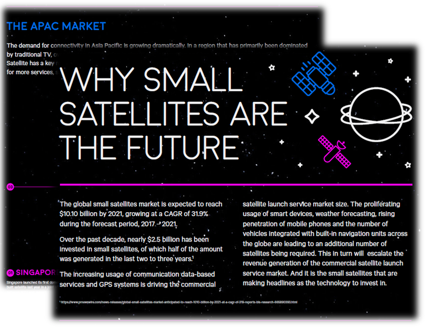 Infographic - Why small satellites are the future
