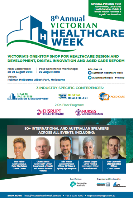 Victorian Healthcare Week Draft Agenda