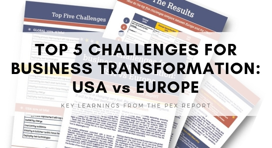 Top 5 Challenges in Business Transformation: USA vs Europe