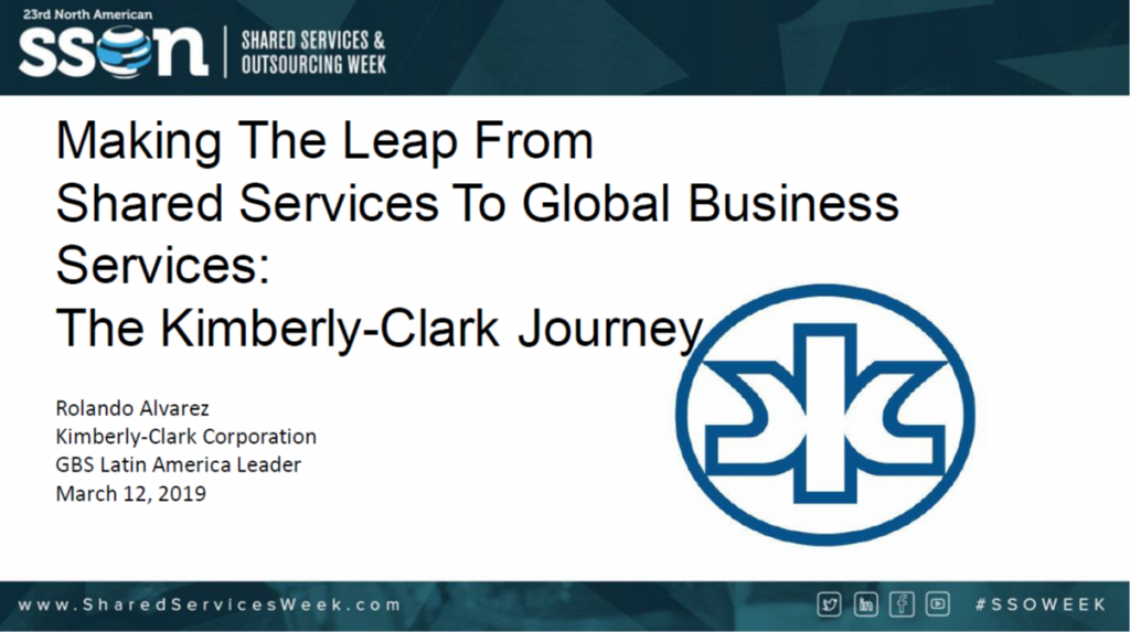 Making the Leap from Shared Services to Global Business Services