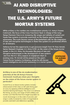 AI and disruptive technologies: The U.S. Army's future mortar system