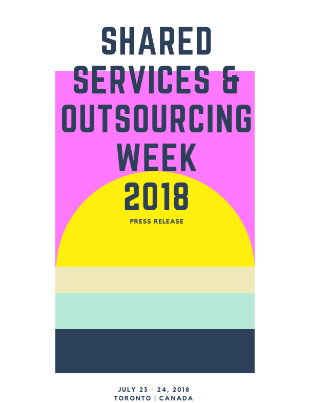 Shared Services & Outsourcing Week 2018 Press Release