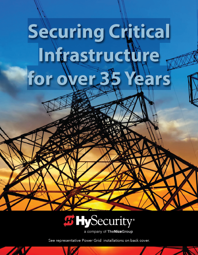 HySecurity: Securing Critical Infrastructure for over 35 Years