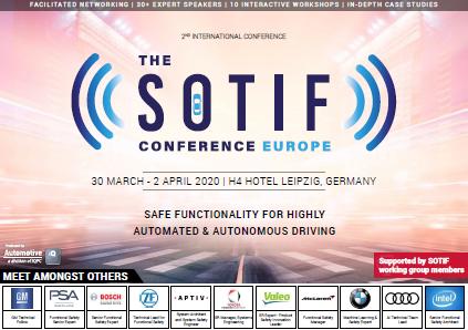 Partner Content - Get the Info!  The SOTIF EU 2020 Program Agenda!