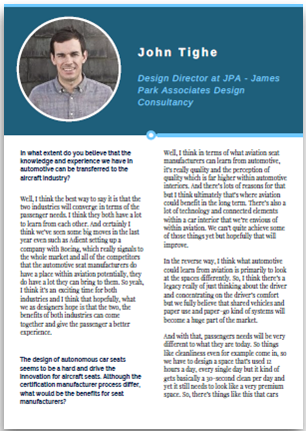 Interview with John Tighe - JPA Design