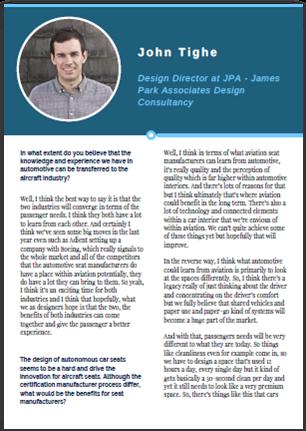 Interview with John Tighe - JPA Design