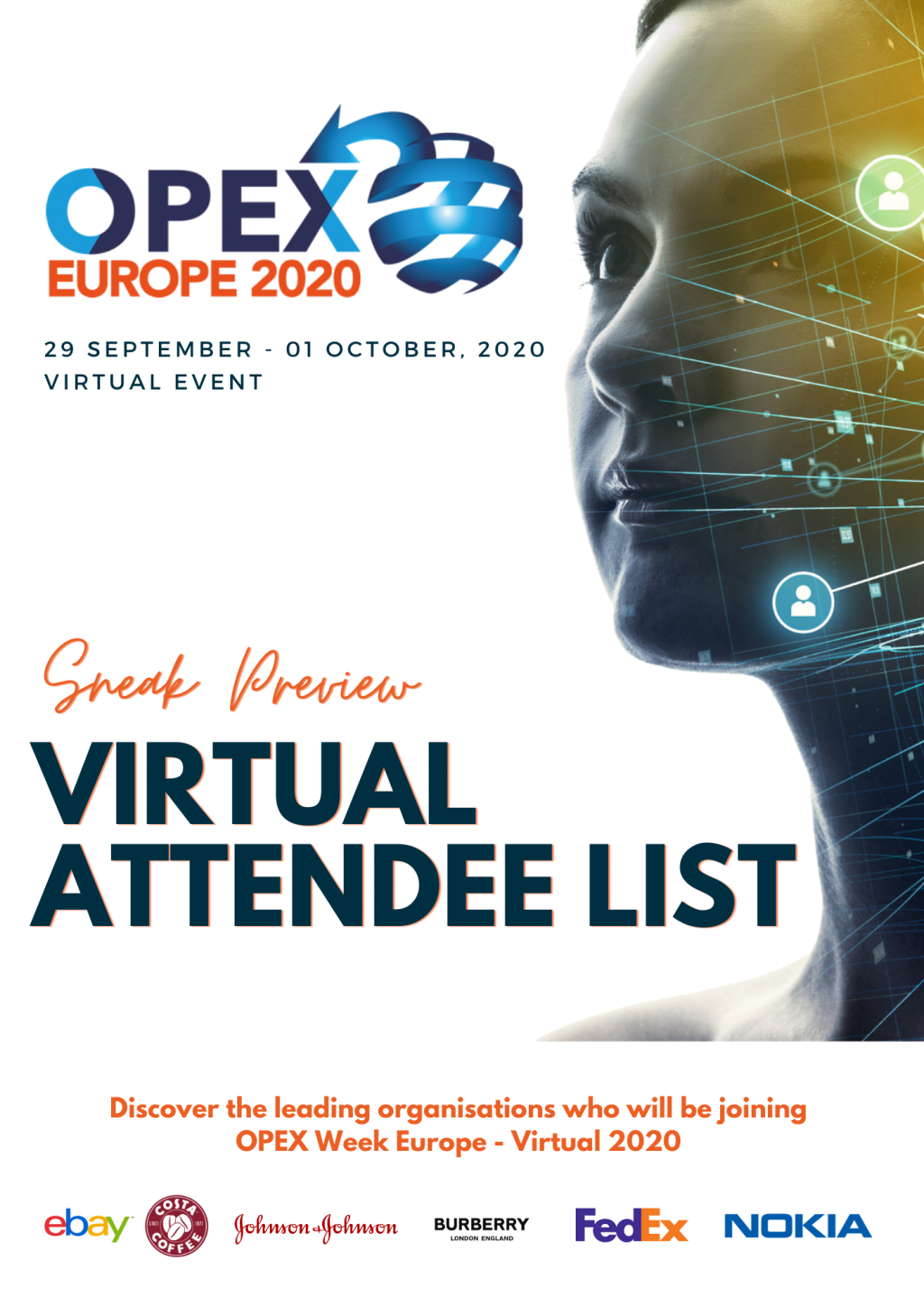 OPEX Europe Virtual 2020 - Attendee List Sneak Preview