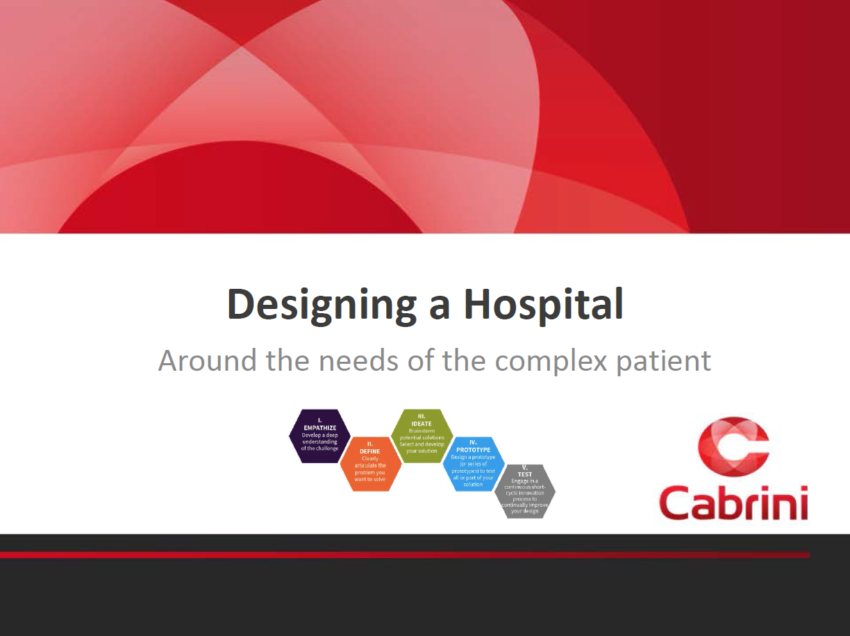 Designing a Healthcare Facility Around the Needs of the Complex Patient