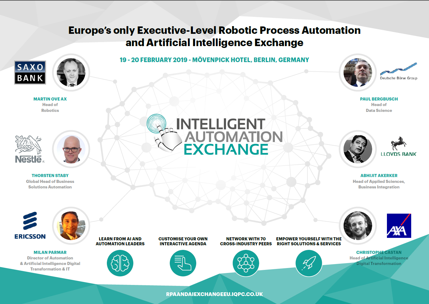 Download the 2019 Intelligent Automation Exchange Agenda