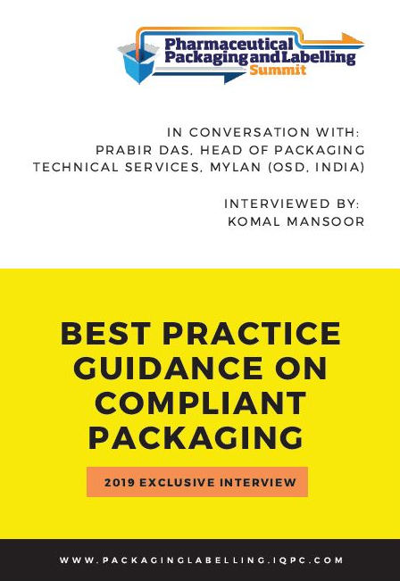 EXCLUSIVE INTERVIEW - Best Practice Guidance On Compliant Packaging 2019: