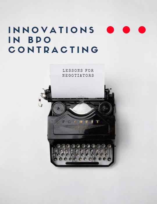 Innovations in BPO Contracting: Lessons for Negotiators
