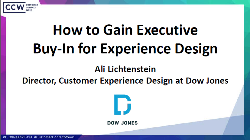 How to Gain Executive Buy-In for Experience Design