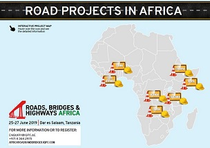 Interactive project map - Road projects in Africa