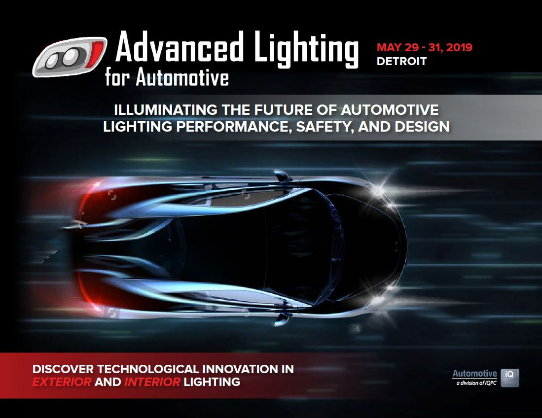 Advanced Lighting for Automotive 2019 Agenda