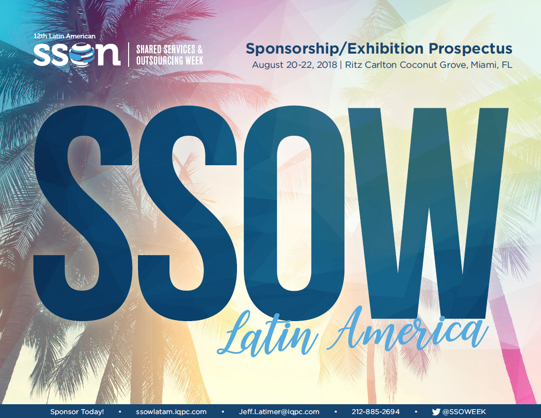 12th Annual SSO Week Latin America 2018 - Sponsorship Prospectus