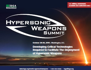 Hypersonic Weapons Summit Onsite Agenda