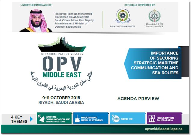 OPV Middle East - Agenda Preview