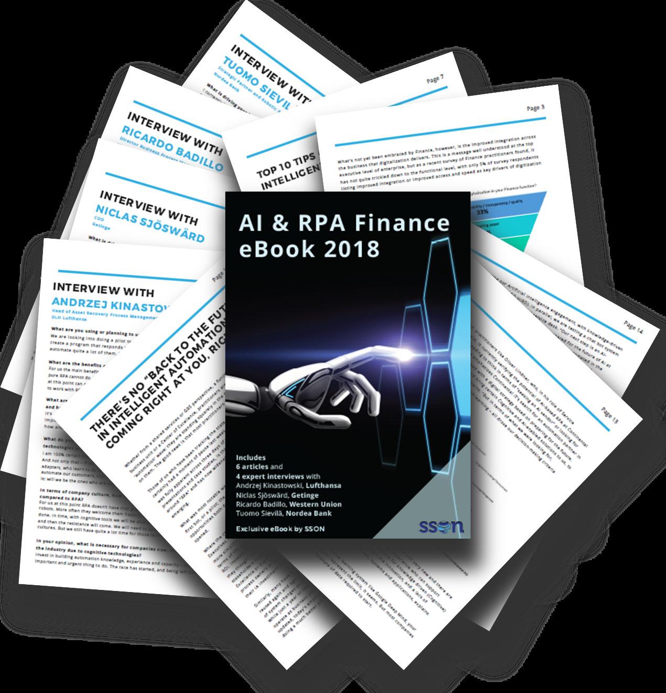 AI and RPA Finance eBook 2018