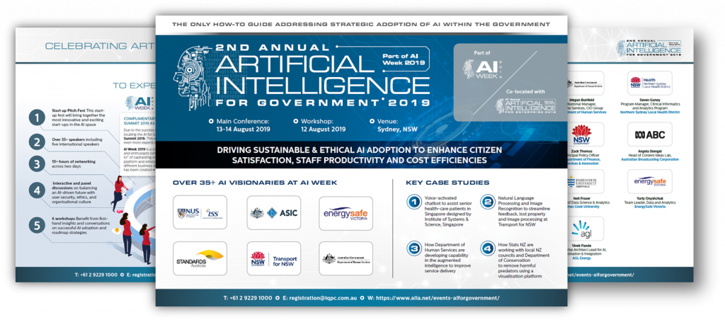 Download The Event Guide - AI for Government 2019