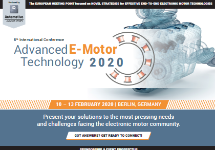 Partner Content: Advanced E-Motor Technology Conference 2020 - Get Ready to Connect.