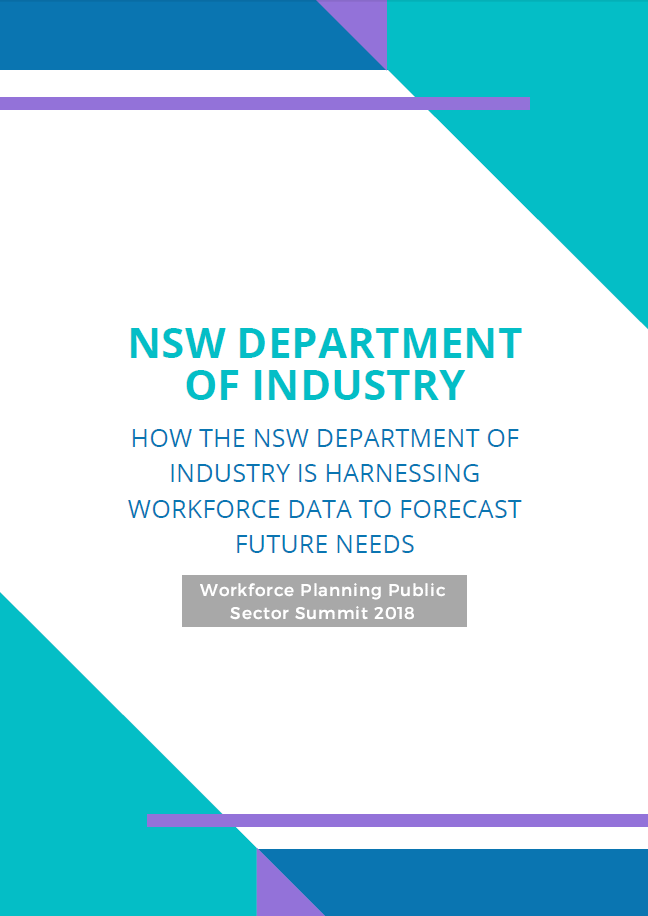 How the NSW Department of Industry is Harnessing Workforce Data to Forecast Future Needs