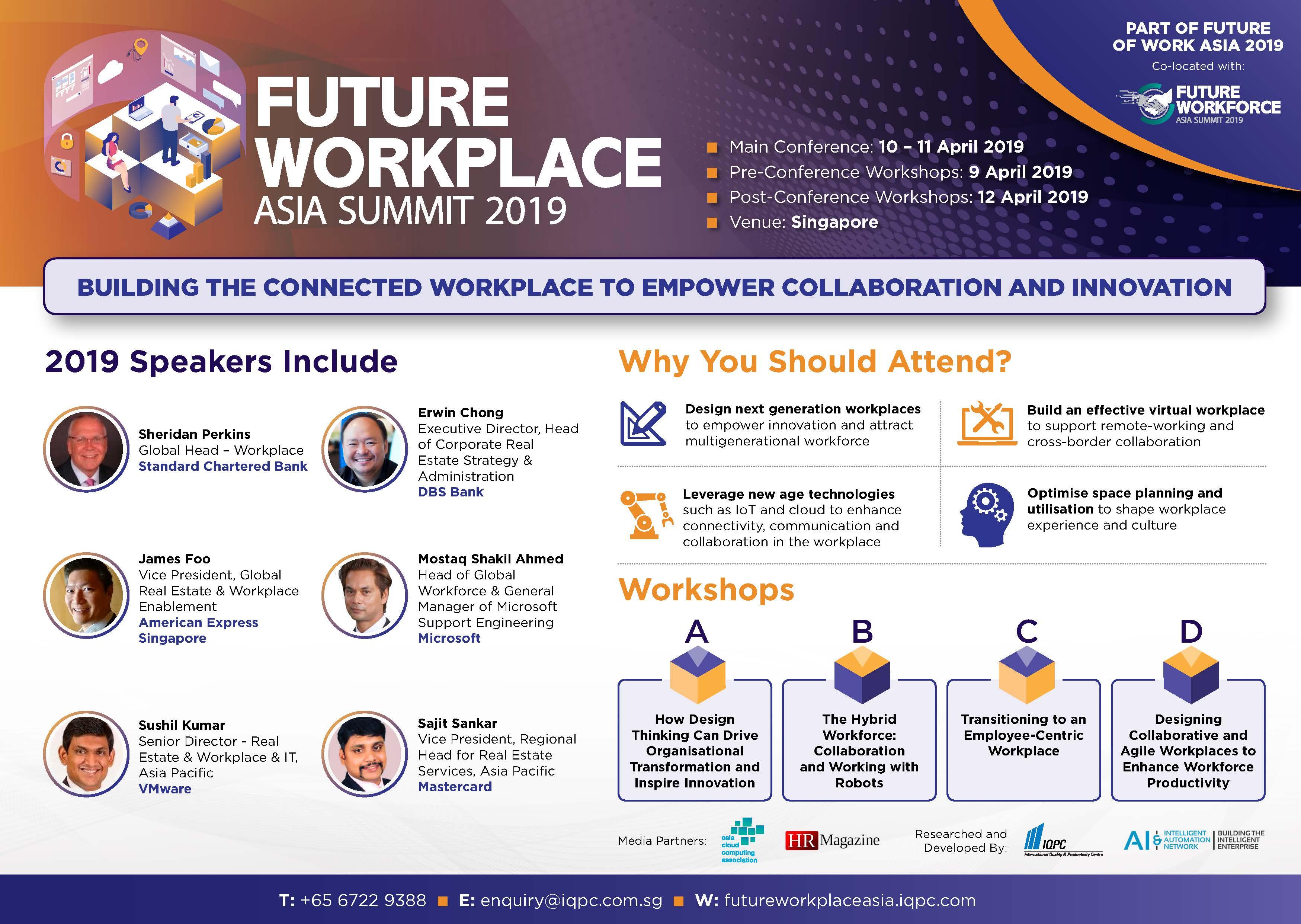 Future Workplace Asia Summit 2019 Brochure spex