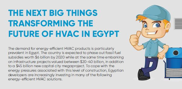 Infographic: The next big things transforming the future of HVAC in Egypt