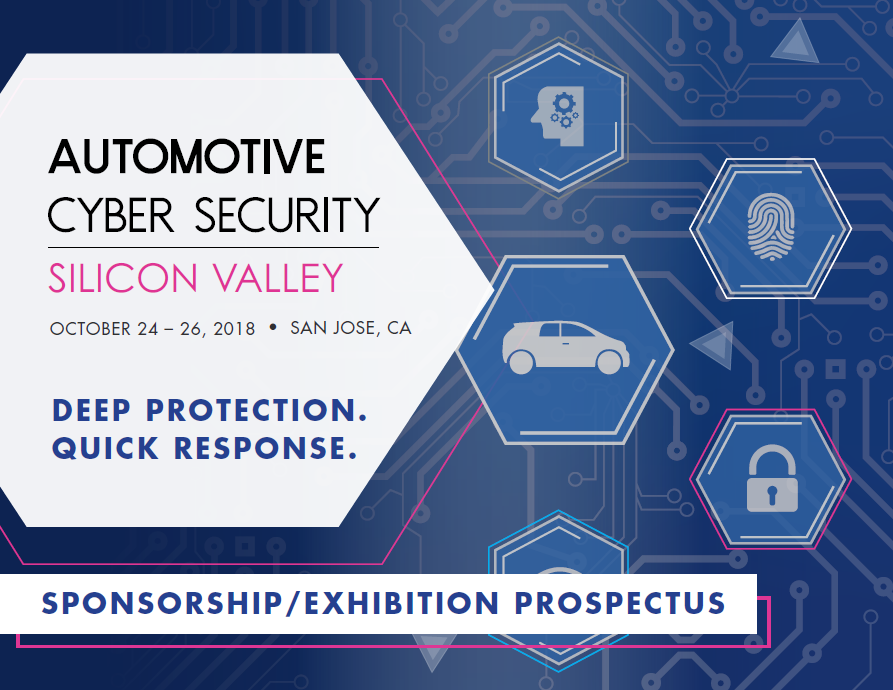 Automotive Cyber Security Silicon Valley - Sponsorship Prospectus
